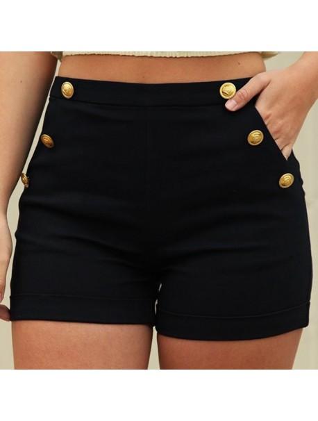 Plus Size 5XL Summer Mini Shorts Women Harajuku High Waist Shorts Pockets Short Femme Ete 2018 For Women Ladies Sexy Mini Shorts